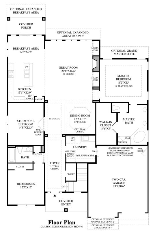 Breckenridge - Floor Plan