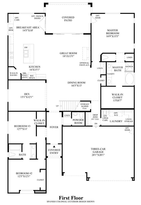 Las Vegas NV New Homes For Sale Franklin Park At Providence - Floor Plans For New Homes