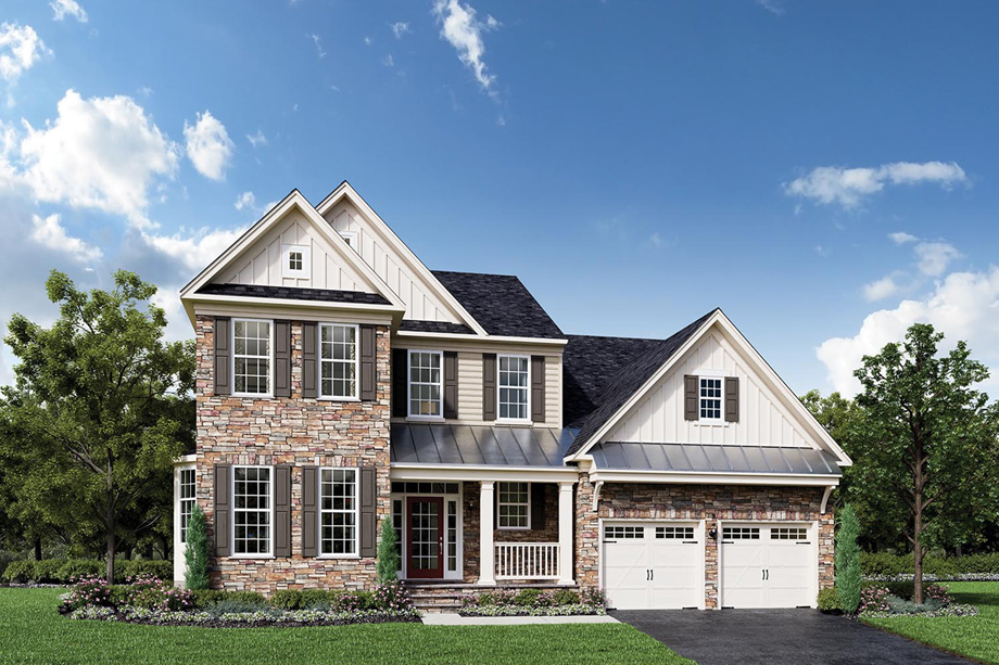 Dominion Valley Country Club Villas The Bridleridge Home Design