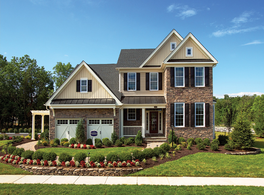 Toll Brothers Floor Plans Virginia: Dominion Valley Country Club - Villas