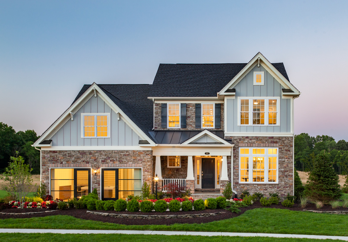 Dominion Valley Country Club - Villas Quick Delivery Home