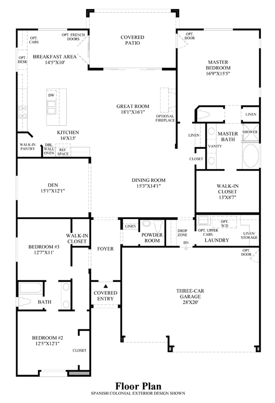 Brisbane - Floor Plan