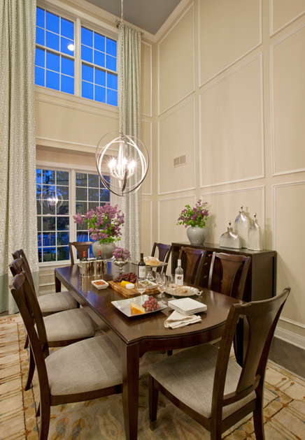 2 Story Formal Dining Room