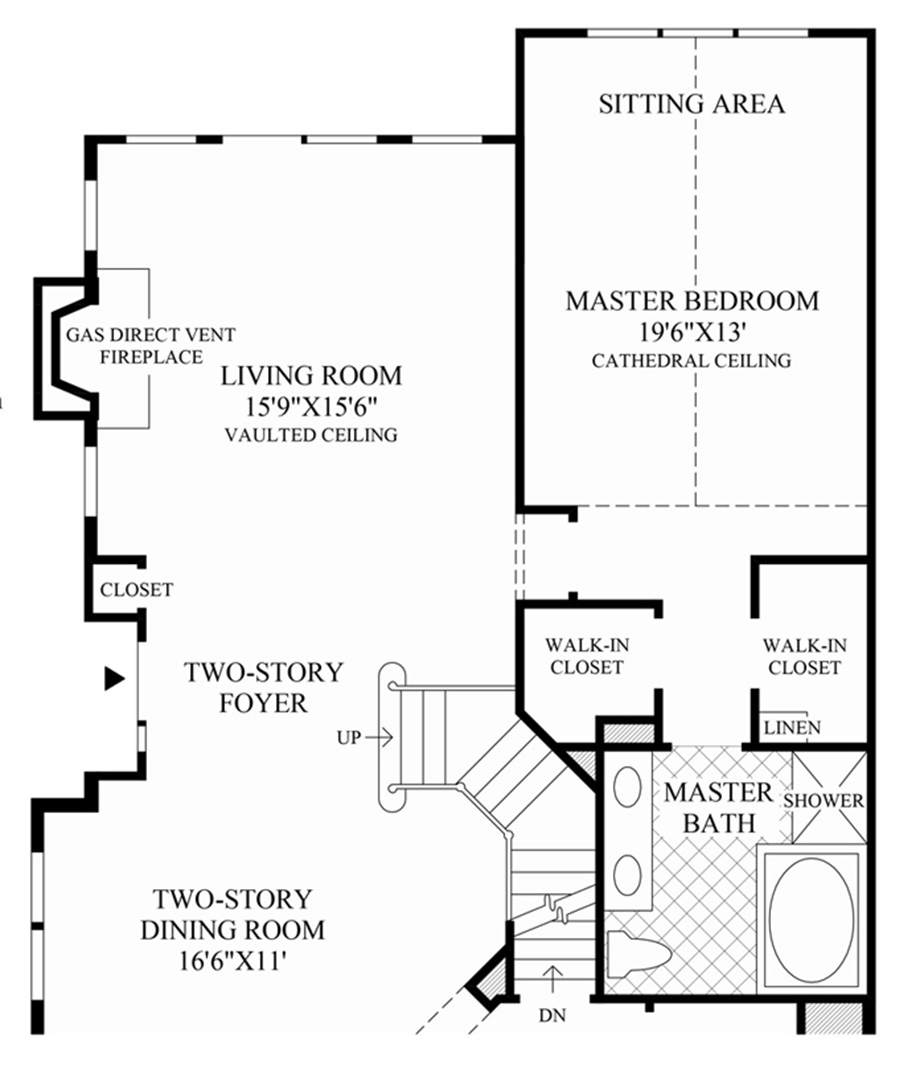 Design Your Own Home Toll Brothers: The Bristol Home Design