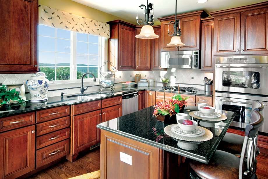 The summit at bethel the bristol home design for Bethel kitchen designs