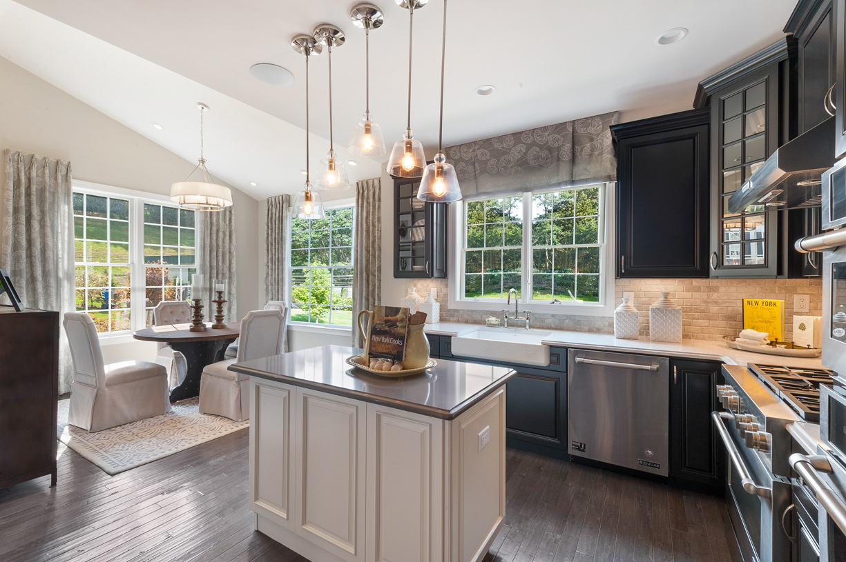 Kitchen with Casual Dining Nook