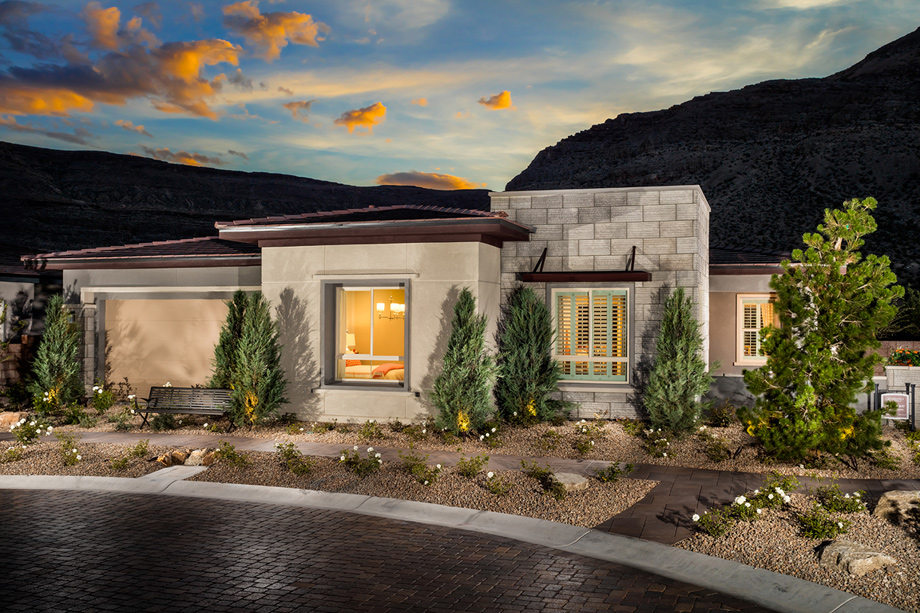 Regency At Summerlin Palisades Collection The Clay