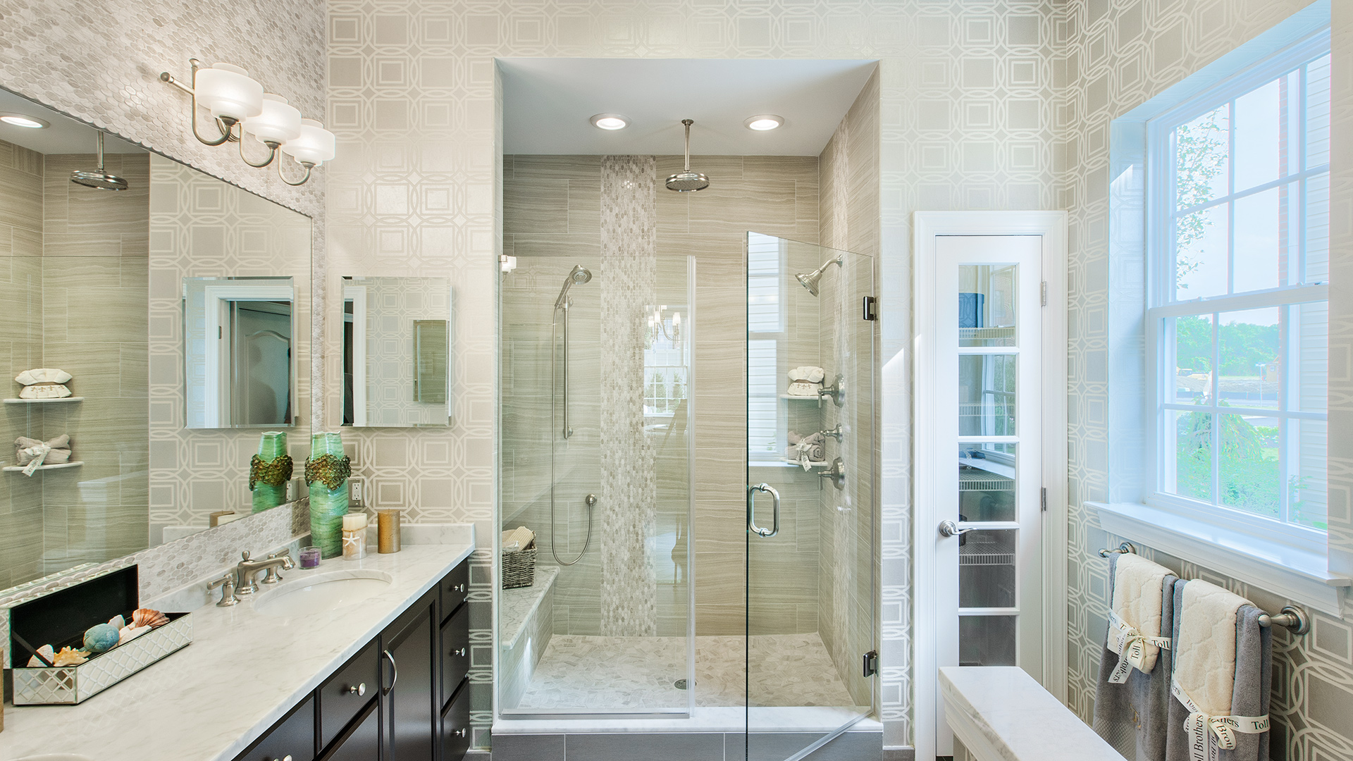 Bathroom inspiration gallery toll brothers luxury homes - Bathroom designs for home ...