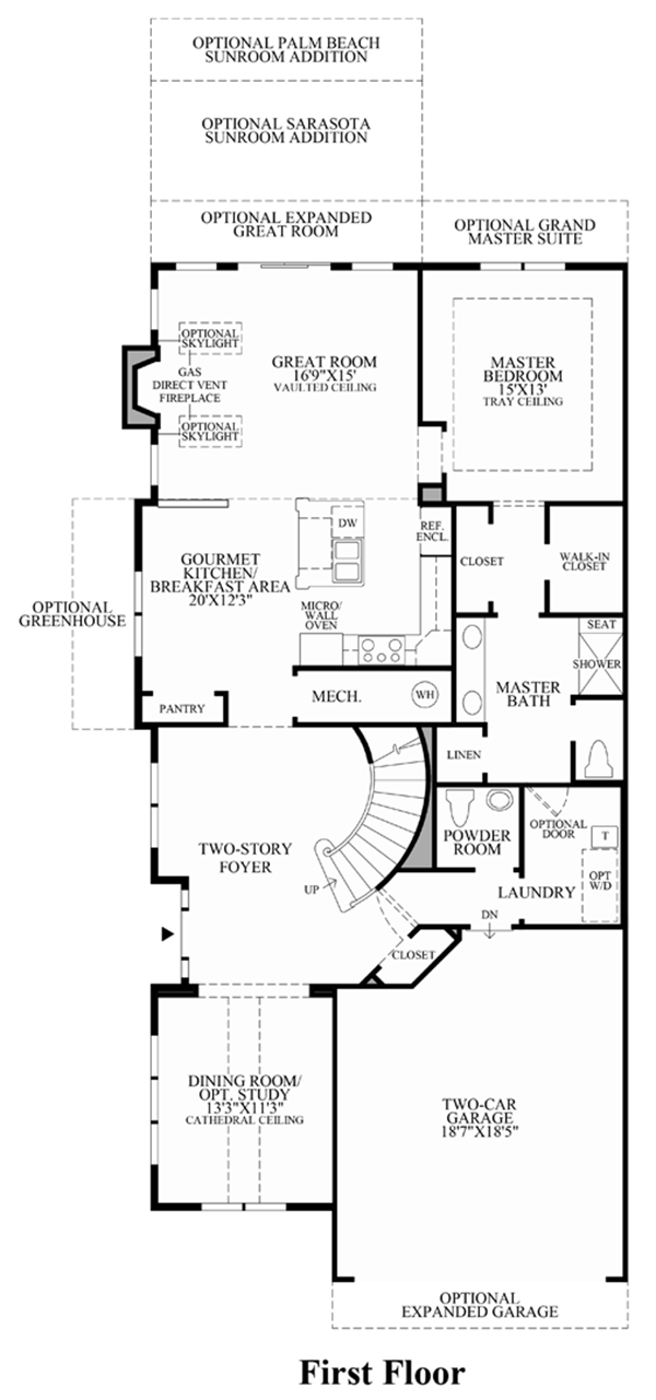 Toll Brothers Carriage Homes Floor Plans