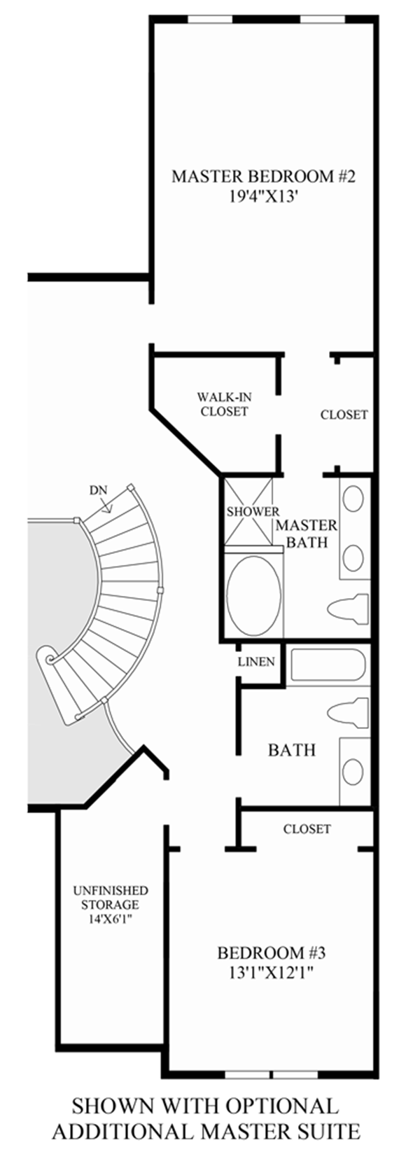 Optional Additional Master Suite