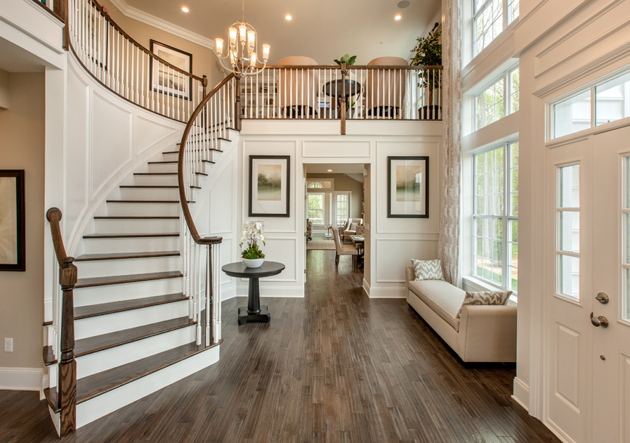 Story Foyer Loft : Regency at yardley the carriage collection