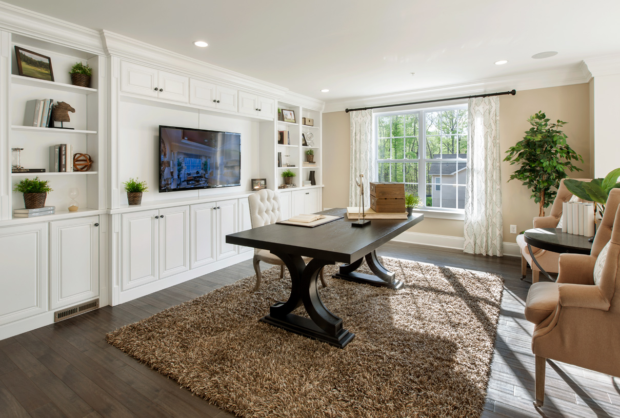 Flex space, perfect for a home office