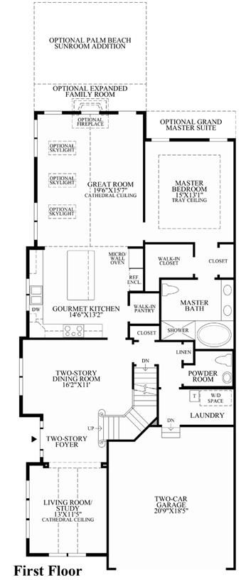 Enclave At Ellis Preserve The Darden Home Design