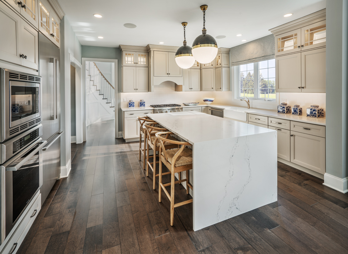 Well-appointed kitchen with granite countertops and stainless steel appliances