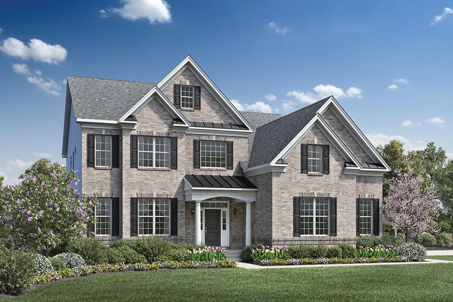 Toll brothers at falls at weddington the stallworth home for Home builders in burlington nc