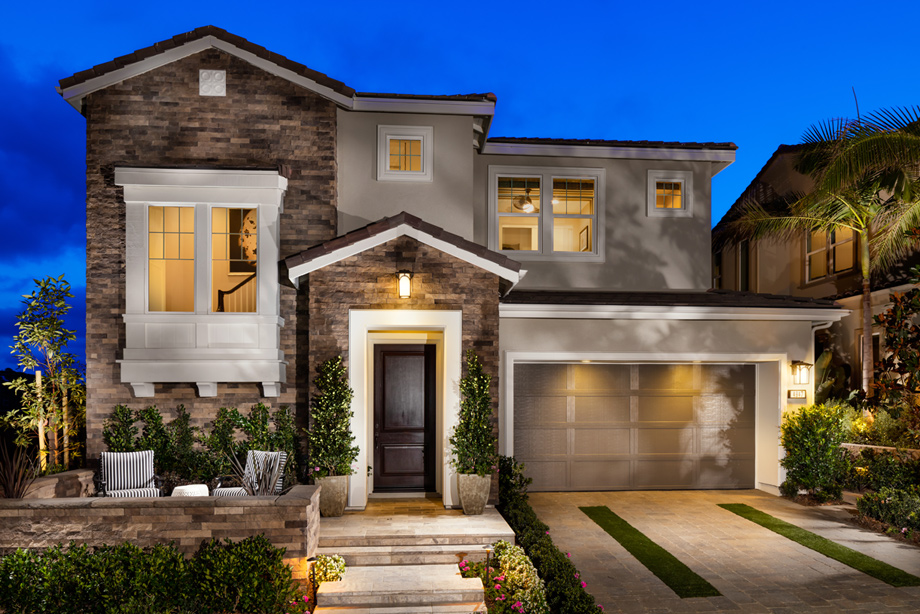 Front Elevation Luxury Homes : Toll brothers at robertson ranch the ridge