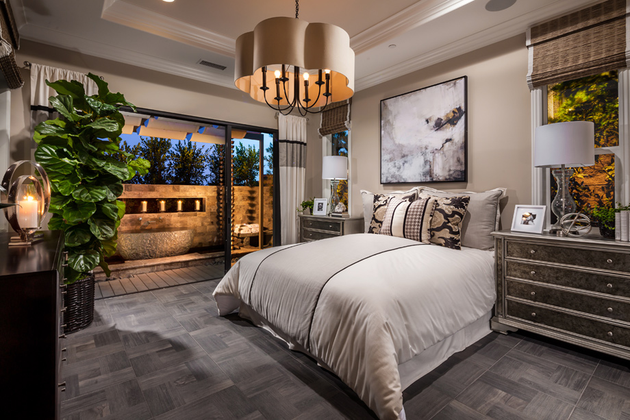 Carlsbad ca new homes for sale toll brothers at for Model home bedrooms