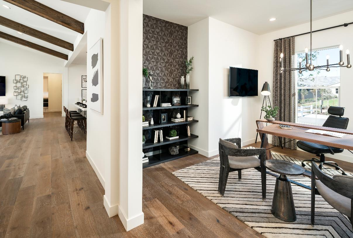 Versatile flex space perfect for a home office