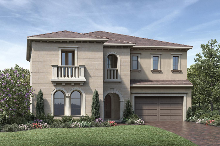 Estrella at altair the stella home design for Italianate homes for sale
