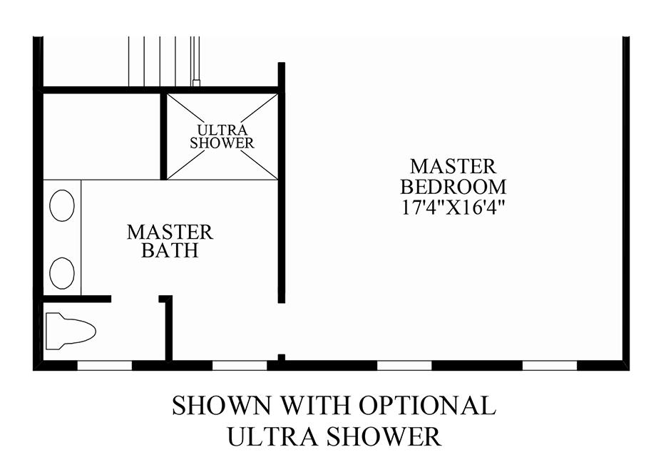 Optional Finished Loft Floor Plan