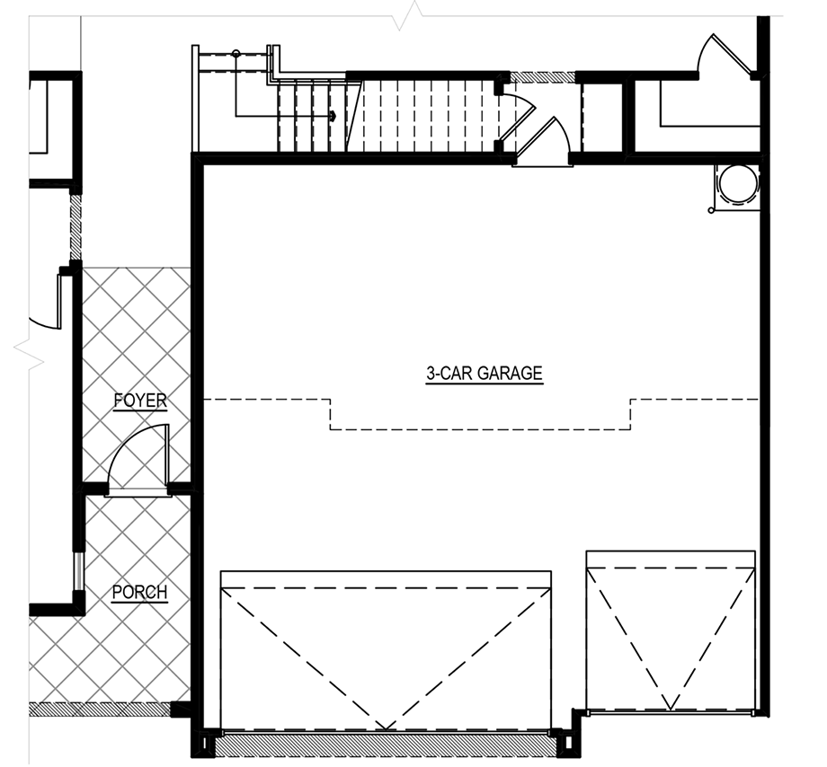 Optional 6 ft. Garage Increase Floor Plan