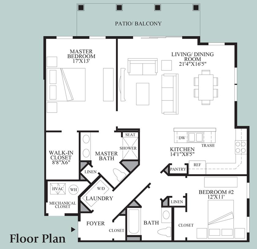 Canaan - Floor Plan