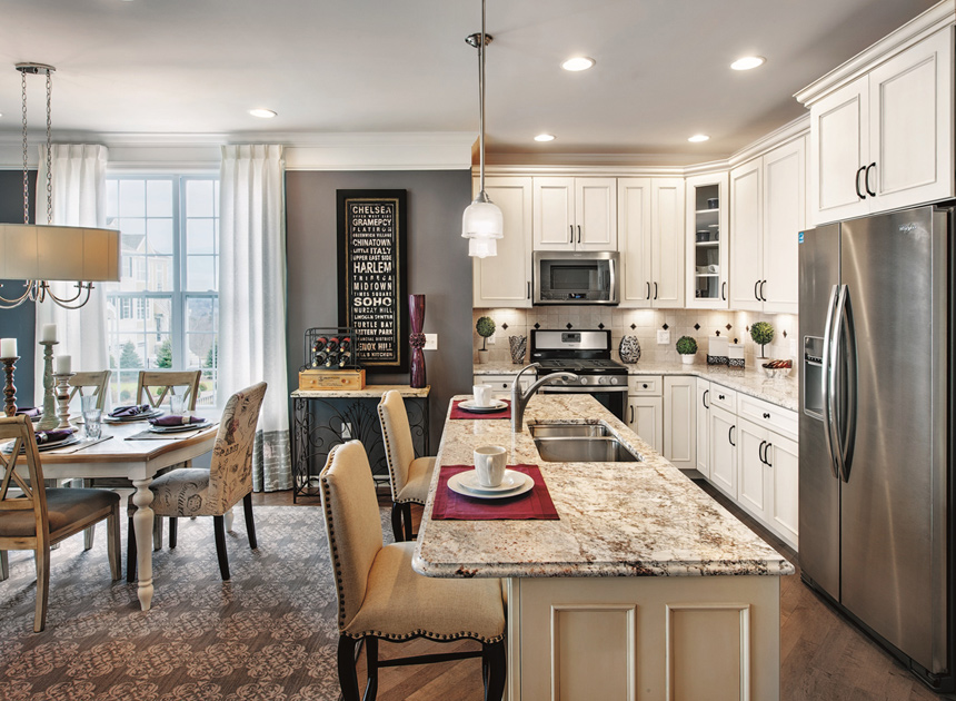 Rivington By Toll Brothers The Mews Collection The Canaan Home Design