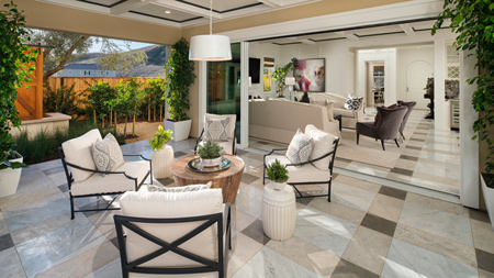 Space for Indoor/Outdoor Entertaining
