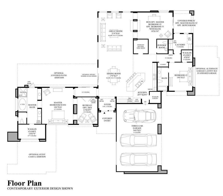 Capri - Floor Plan