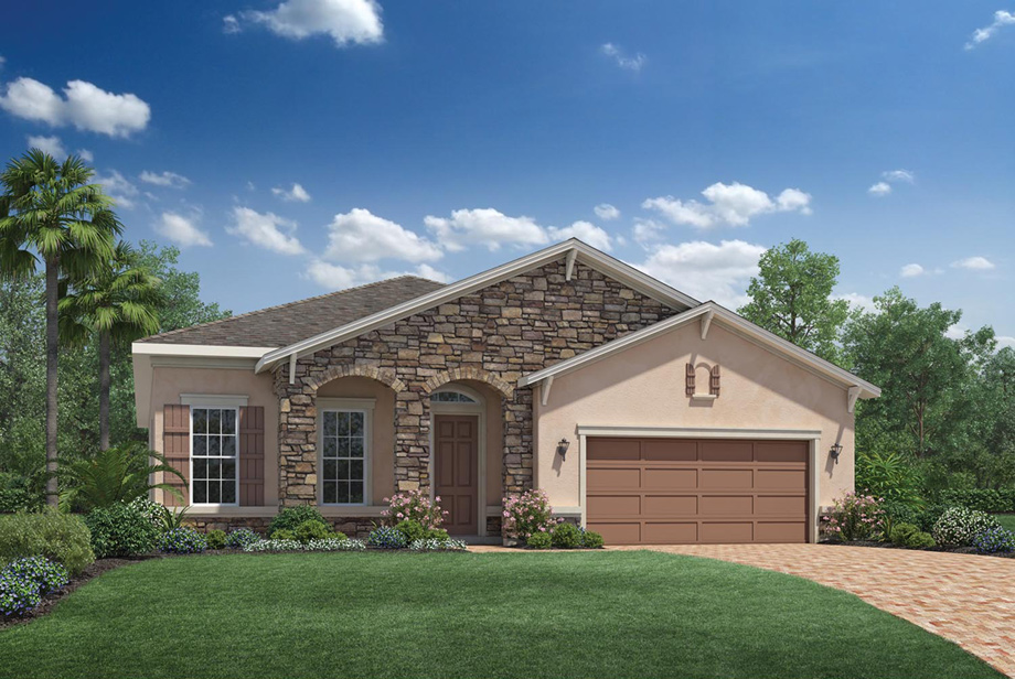 Coastal oaks at nocatee heritage collection the for Tuscany model homes