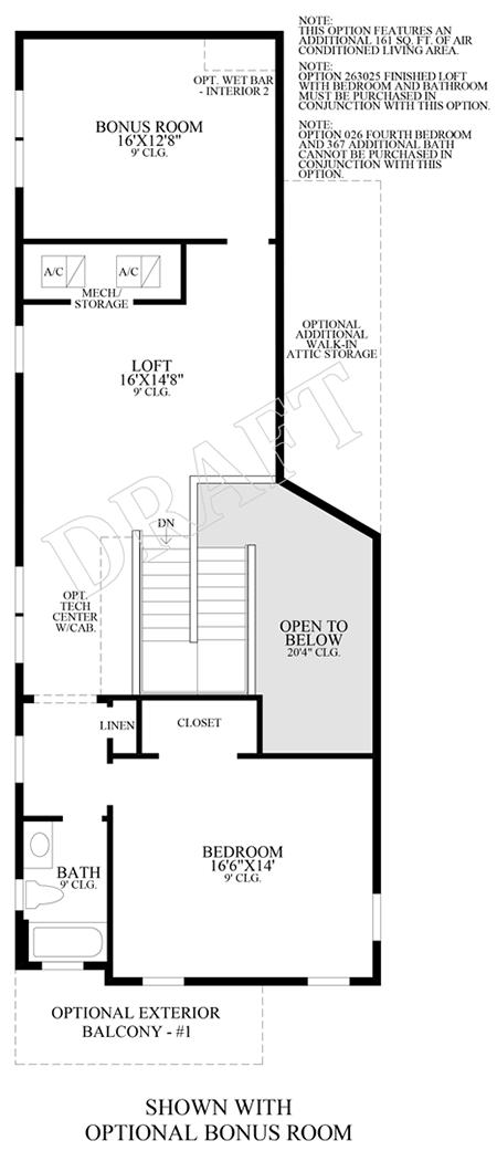 Optional 2nd Floor