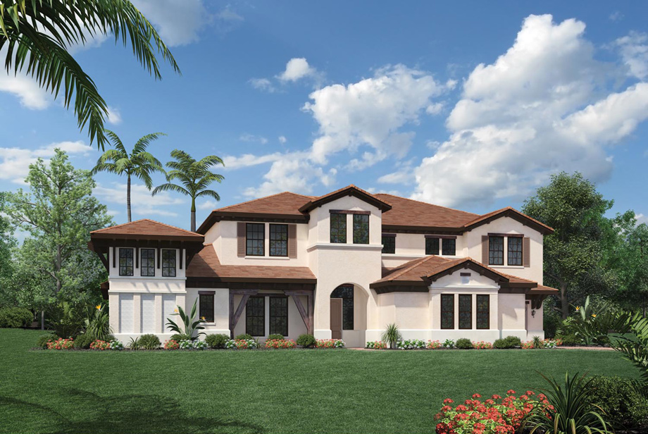 Royal palm polo signature collection the villa lago for Palm beach home collection