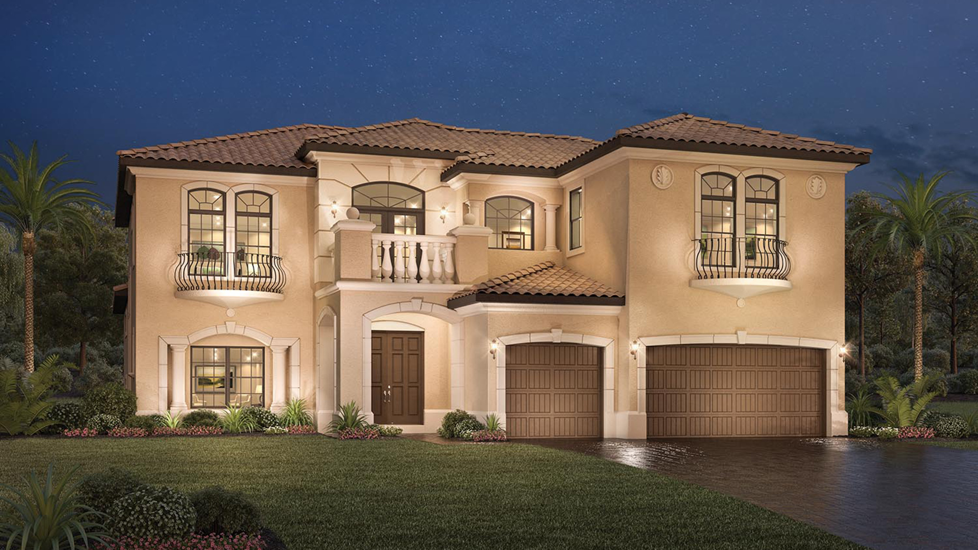 Parkland golf country club monogram collection the for Carrington homes