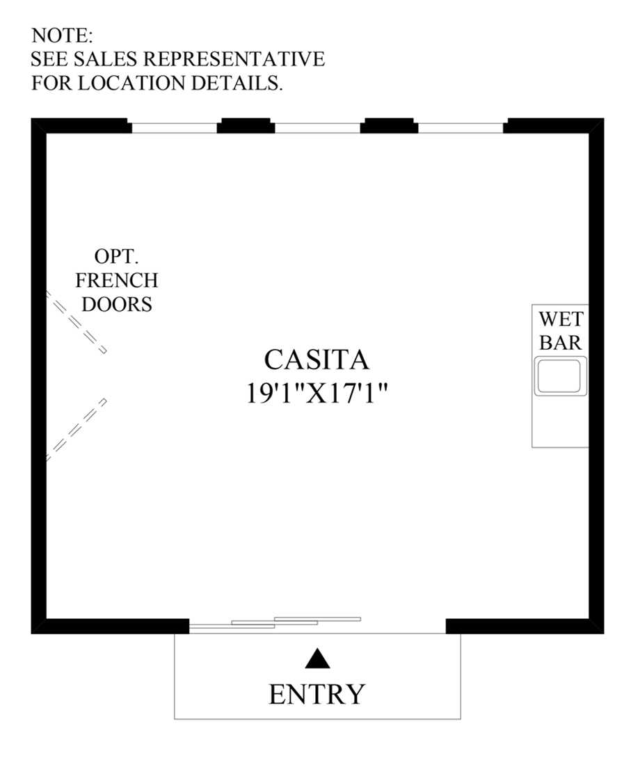 Casita Option 1 Floor Plan