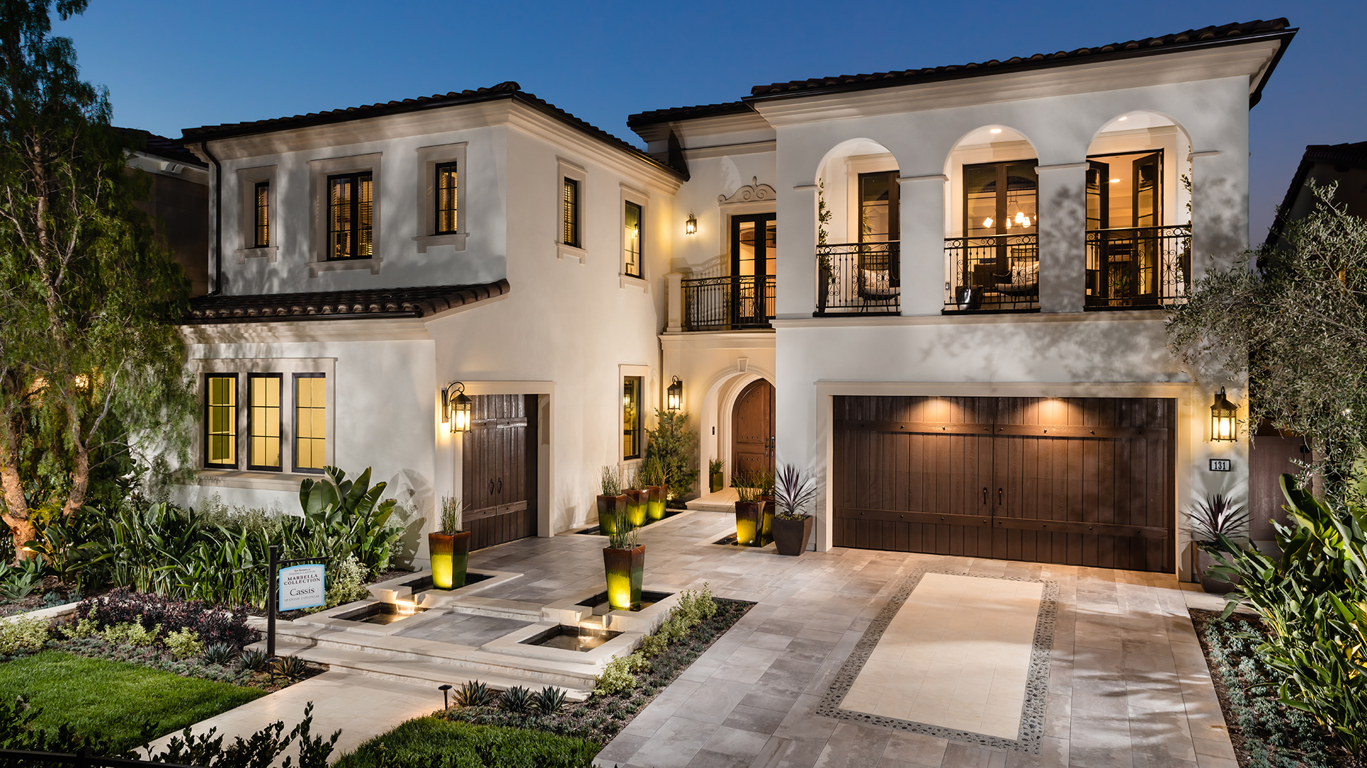 Toll brothers at hidden canyon marbella collection the for Luxury home models