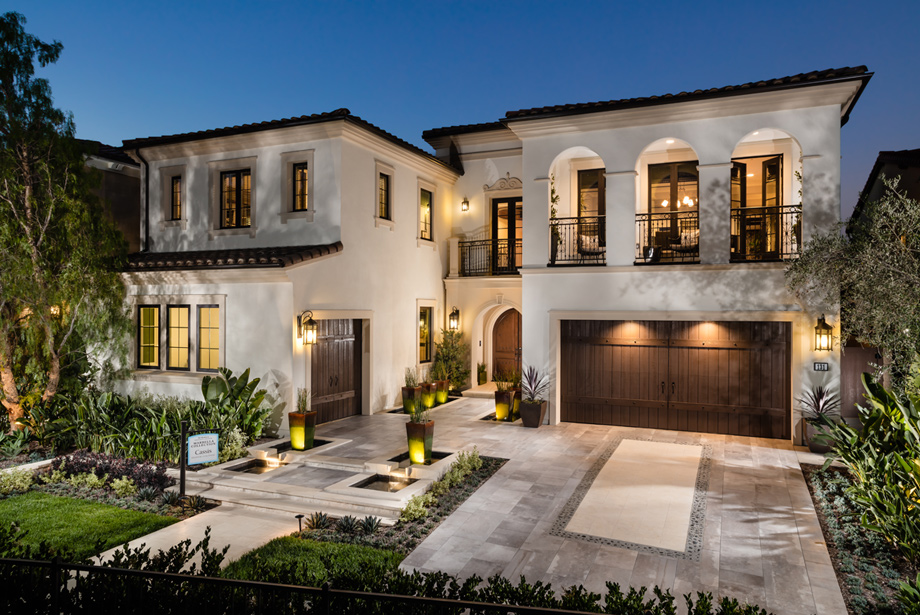 Toll brothers at hidden canyon marbella collection the for Home plans california