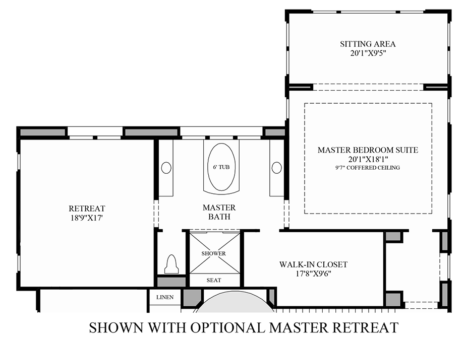 toll brothers at hidden canyon marbella collection the On master retreat floor plans