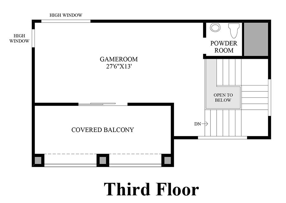 3rd Floor Floor Plan