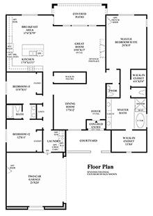Catania - Floor Plan