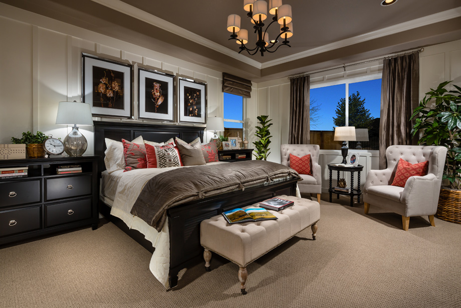 model homes master bedrooms presidio at damonte ranch the catania home design 16213
