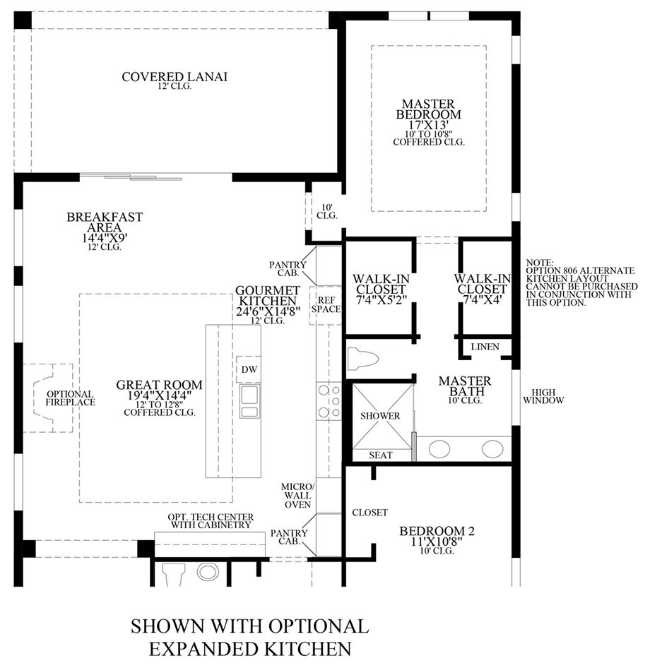 Palazzo at naples the cayman home design for Design your own kitchen floor plan