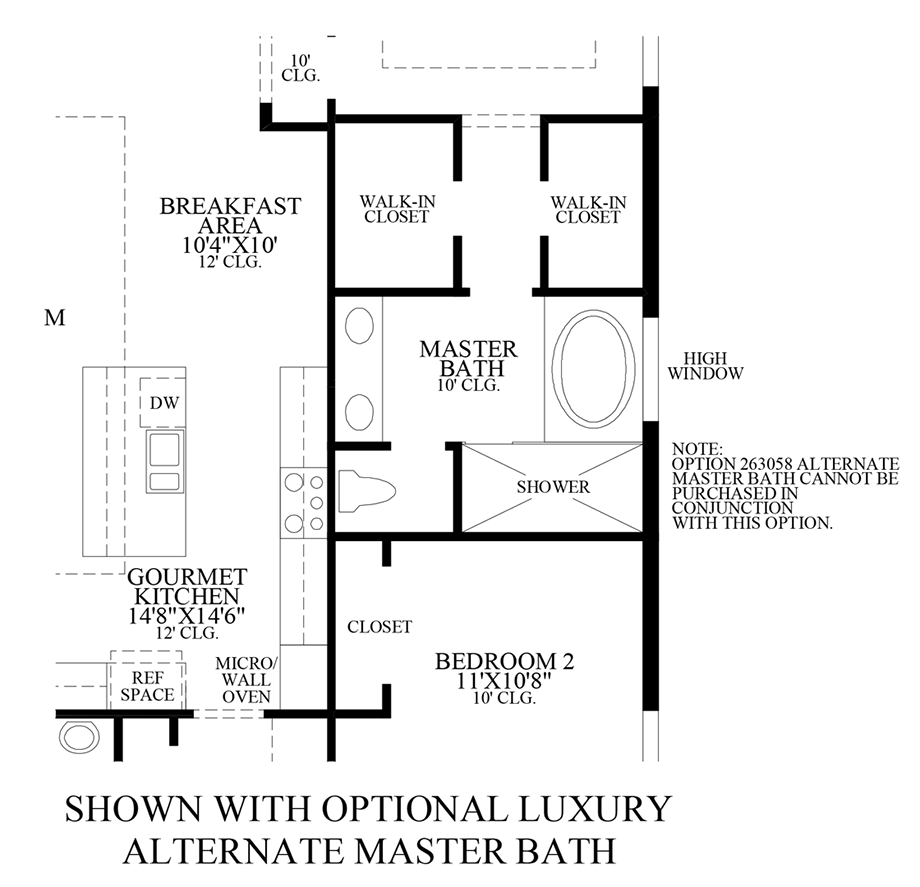 palazzo at naples the cayman home design On luxury master bath floor plans