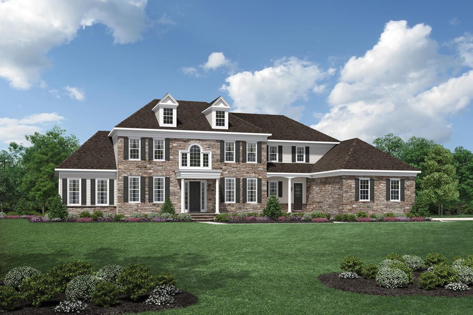 Strange Newtown Square Pa New Homes For Sale Liseter The Bryn Home Interior And Landscaping Pimpapssignezvosmurscom