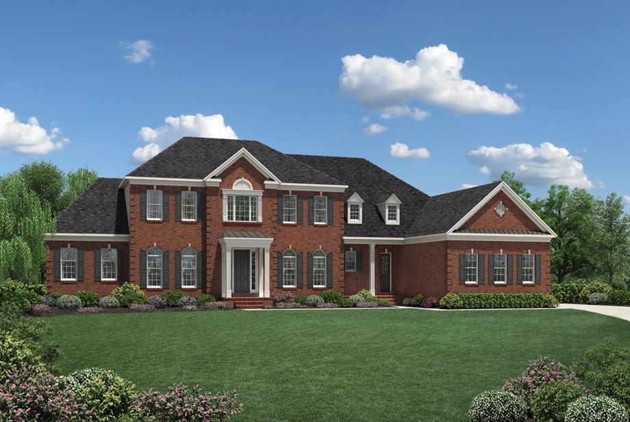 Dutchess farm estates the covington home design for Newtown builders