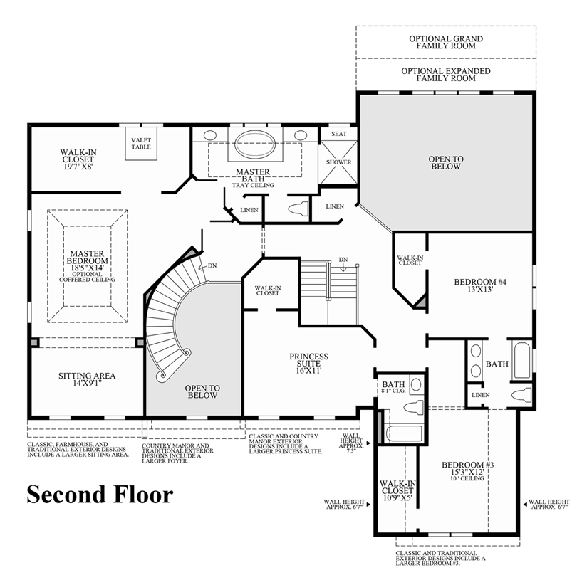 Reserve at franklin lakes signature collection the for Iowa home builders floor plans