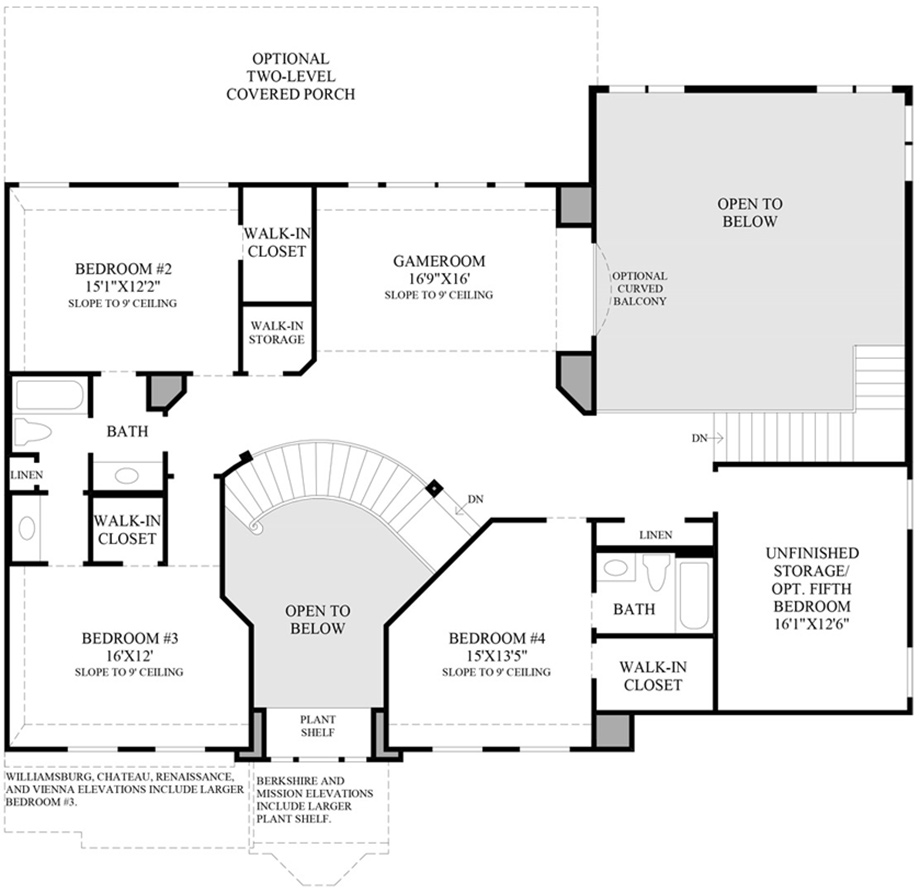Toll brothers page not found for Charleston floor plan