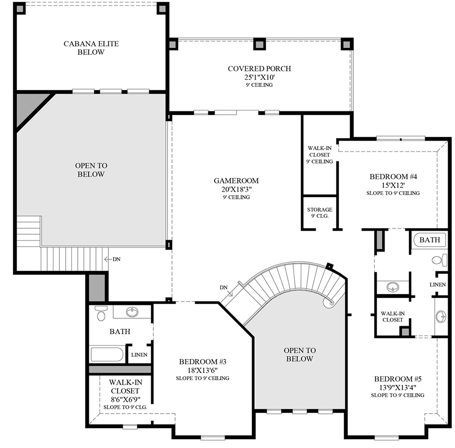 Parkside at fairview quick delivery home charleston hill for Charleston homes floor plans
