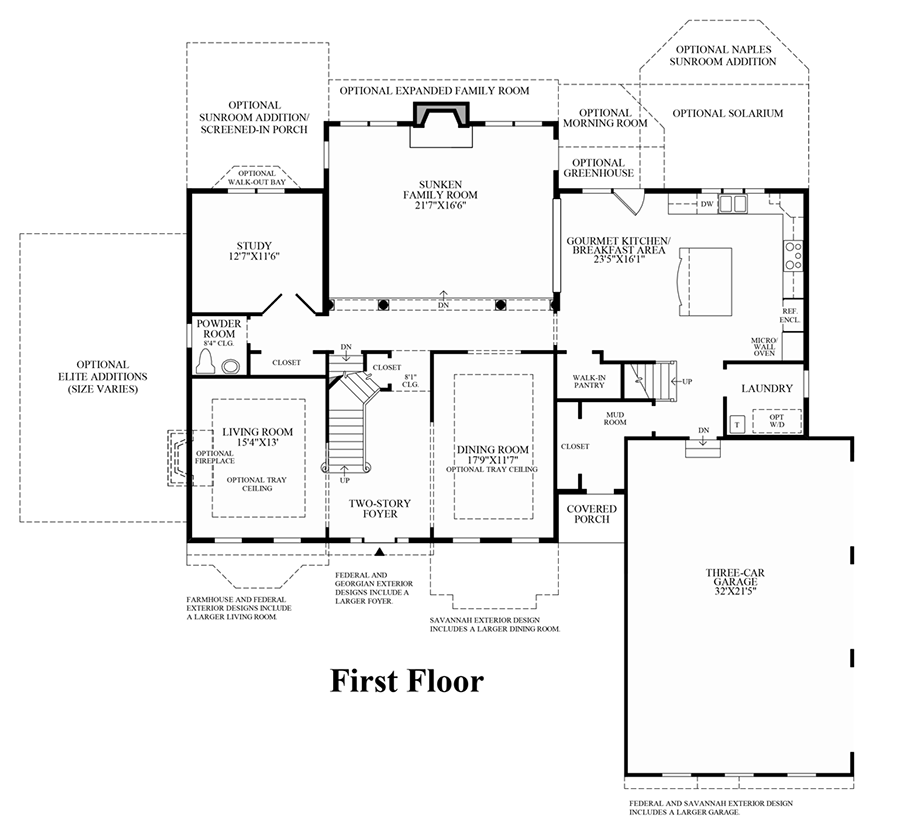 Dominion valley country club estates the chelsea home Dominion homes floor plans