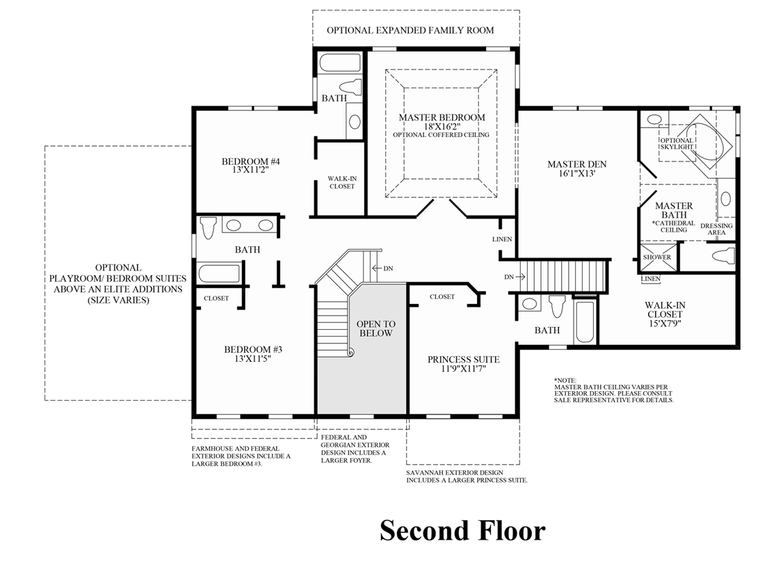Old Dominion Homes Floor Plans