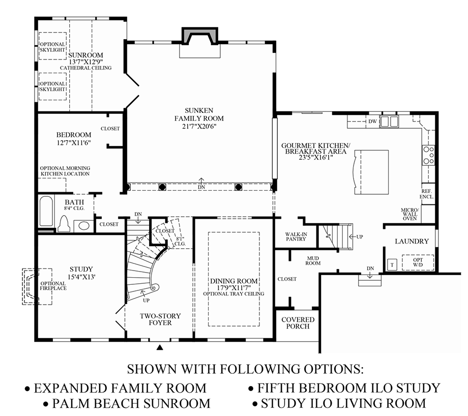Other Options Floor Plan